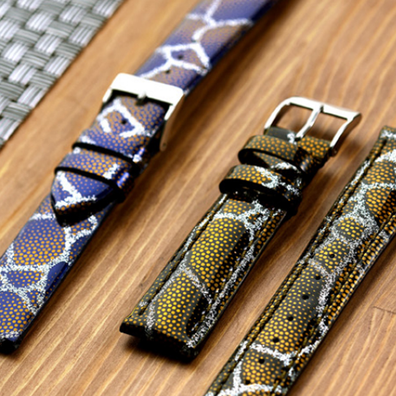 Sona Wearables | Processed Leather Watch Strap Manufacturers